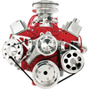 Billet Specialties Std. Chevy Small Block (Mid Mount - PS)