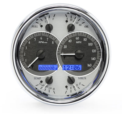 Dakota Digital VHX Universal Single Round Gauges