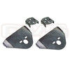 Universal Rear Over Axle Bag Brackets