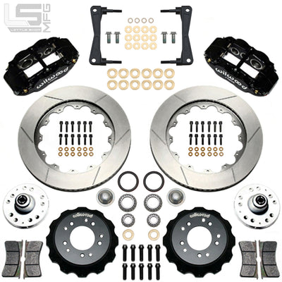 "Little Shop Mfg. 14"" Front Big Brake Kit - 88-98 GM Truck / SUV"