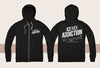 C10 Addiction Zip-Up Sweatshirt