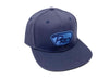 Pro Embroidered Flat-Bill Hat - Navy Blue