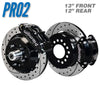 "Pro2 60-87 C10 13"" Front / 12"" Rear Brake Kit"