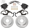 Little Shop Mfg. Rear Disc Kit - 64-87 C10 (6-Lug)