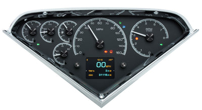 Dakota Digital HDX Gauges - 55-59 Chevy Truck