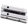 Billet Specialties Ball Milled Valve Covers - Chevy Small Block