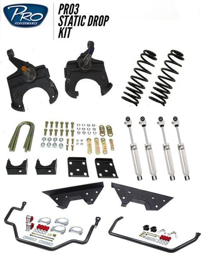 Pro3 73-87 C10 Static Drop Kit