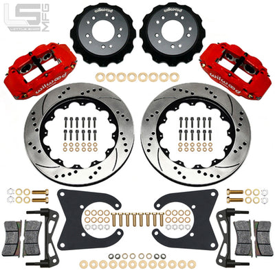 "Little Shop Mfg. 14"" Rear Big Brake Kit - 88-98 GM Truck / SUV"
