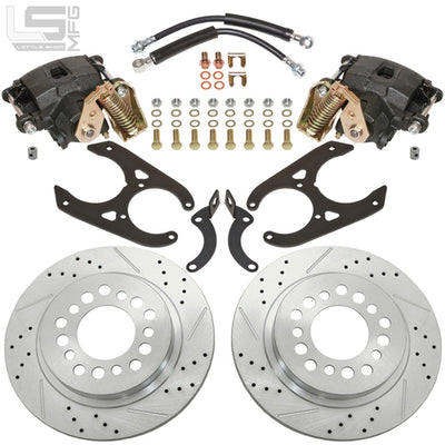 "Little Shop Mfg. Rear Disc Kit (For 11"" Drum) - 88-98 GM Truck / SUV"