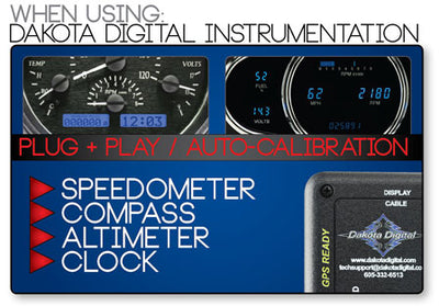 Dakota Digital GPS Speed BIM Module