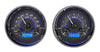 Dakota Digital VHX Universal Dual Round Gauge Set