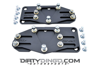 Dirty Dingo Slider LS Conversion Mount - 58-72 GM
