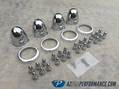 Billet Proof - Bullet Wheel Cap Kit
