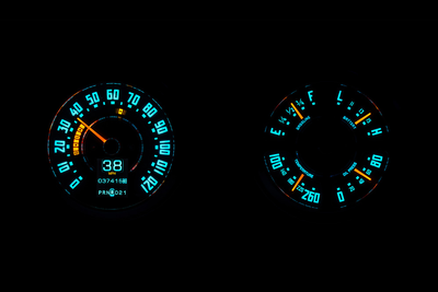 Dakota Digital RTX Gauges - 47-53 Chevy Truck