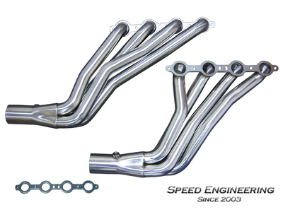 "Speed Engineering LS Swap Headers - 1-3/4"" Full Length"