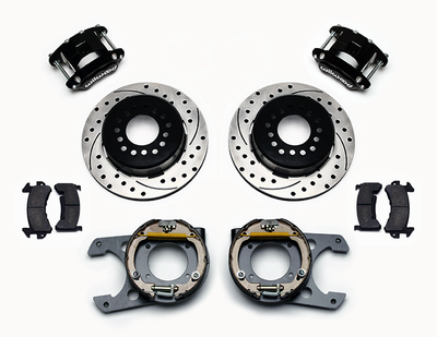 "Pro2 WILWOOD 60-87 C10 13"" / 12"" Brake Kit"