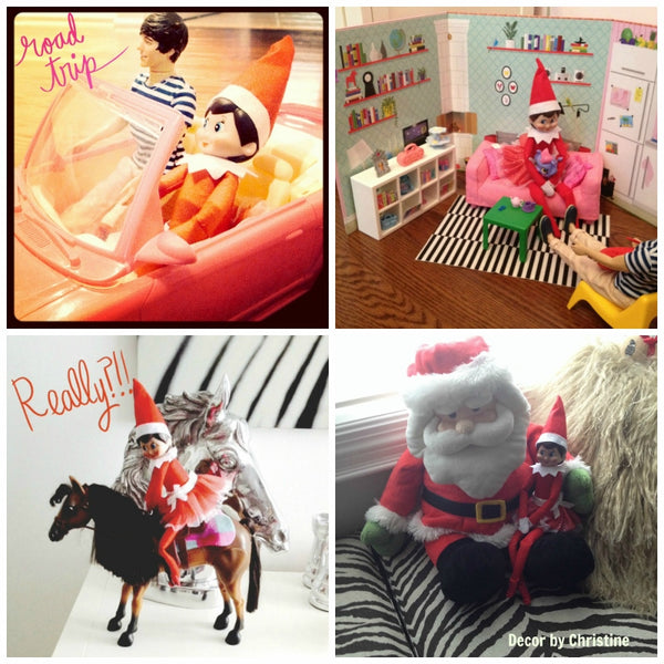 How to get Creative with your Elf on the Shelf!