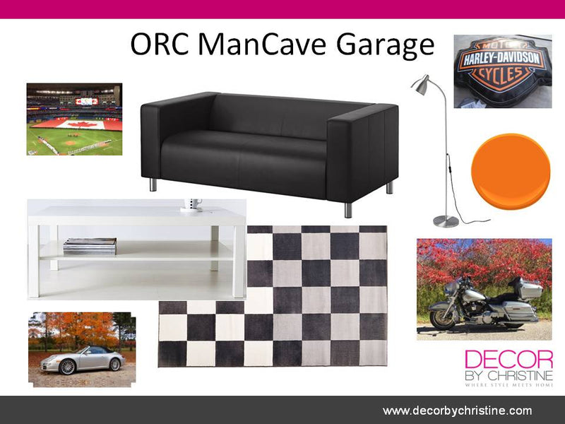One Room Challenge - ManCave Garage - Wk 4