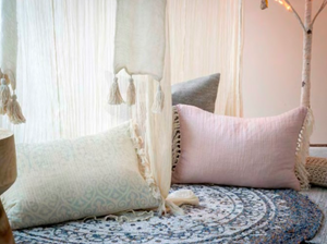 Linen Cushions Styled