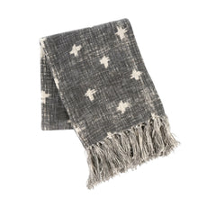 Load image into Gallery viewer, Cross Tassel Throw 1-8378_lg 1