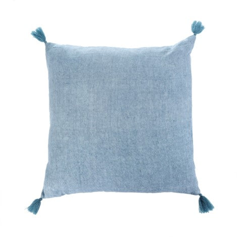 Nala Linen Cushion 20x20 - Denim 1-8432_lg
