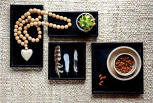 Load image into Gallery viewer, New Black Natural Soapstone Trays - 3 sizes