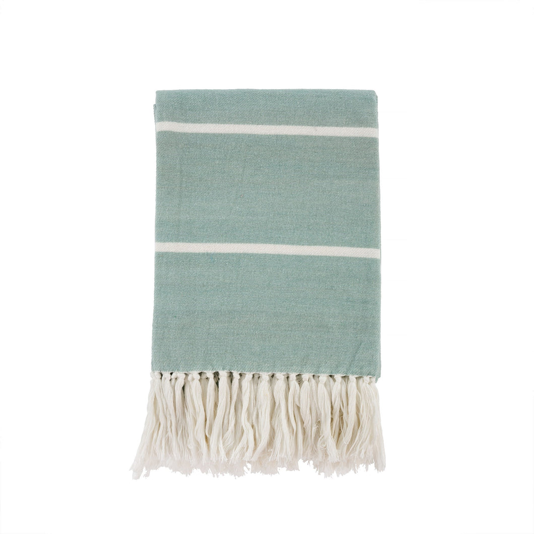 Brushed Cotton Throw - Mint
