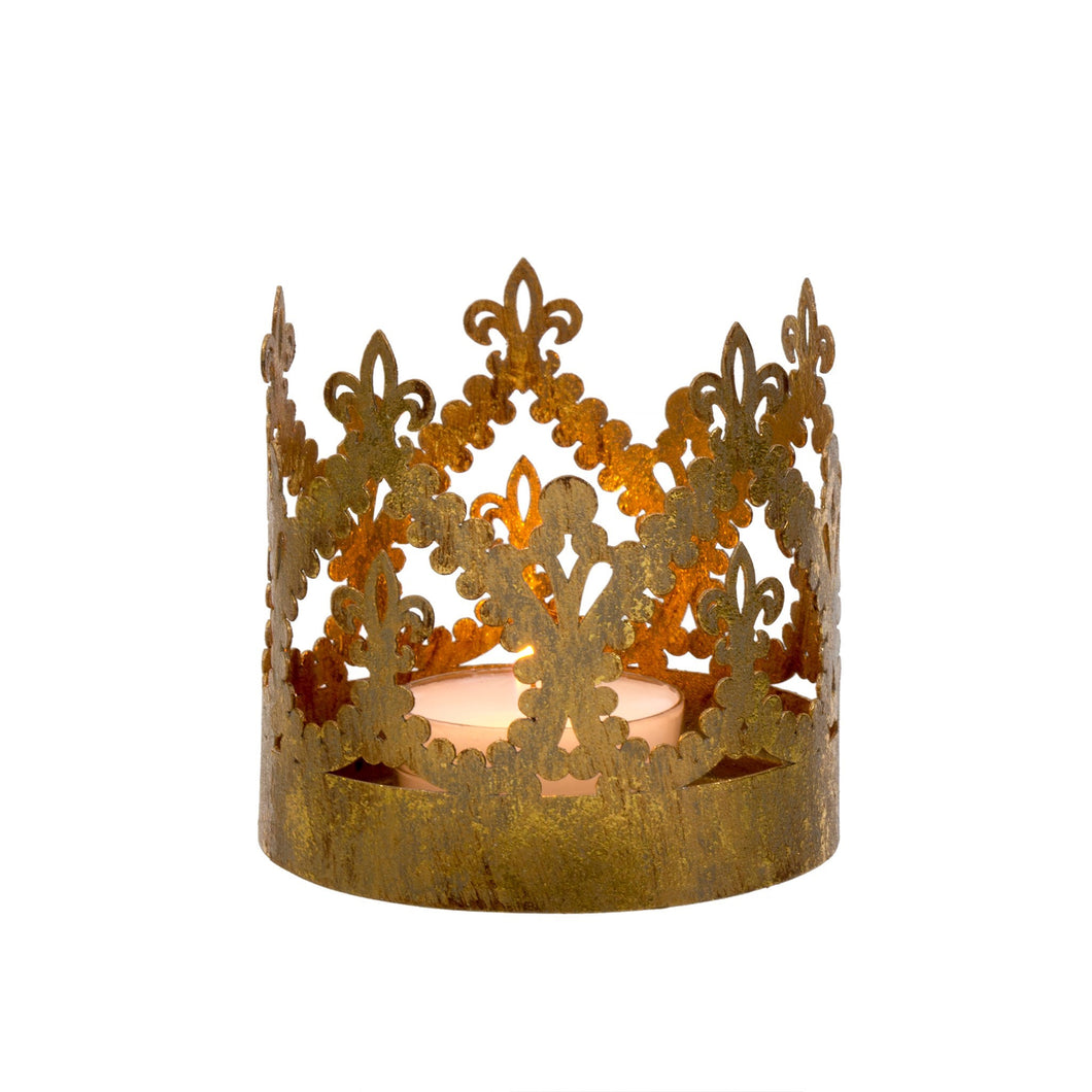 Gold Crown Votives