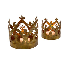 Load image into Gallery viewer, Gold Crown Votives