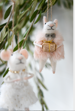 Load image into Gallery viewer, NEW Holiday Mice Ornaments