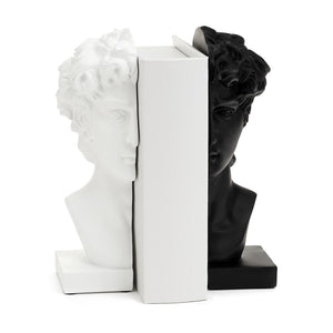 NEW Julius Bookends - Set of 2 in Blk & Wht
