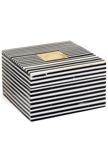 NEW Knoll Black & White Deco Boxes