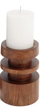 Load image into Gallery viewer, Mali Wooden Candle Holder