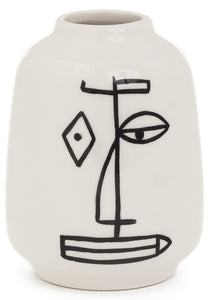 NEW Picasso Style Modern Face Vases