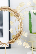 Load image into Gallery viewer, Grecian Gold Wreath On Marble Stand - Due to Covid these will be out of stock until early 2021 :-(