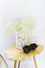 "Load image into Gallery viewer, New ""Woman Line Art"" Planter Pot - Black & White"