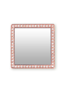 Square Crystal Phone Mirrors