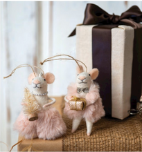 Load image into Gallery viewer, Holiday Mice Ornaments