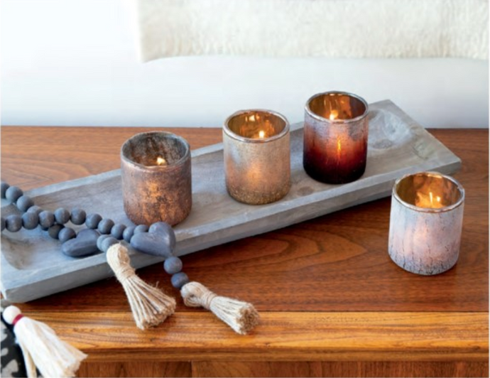 NEW Saturna Gold Ombre Votive