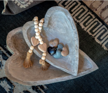 "Load image into Gallery viewer, NEW ""Worry Not"" Prayer Beads with Heart"