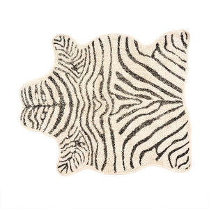 NEW Zebra Tufted Rug