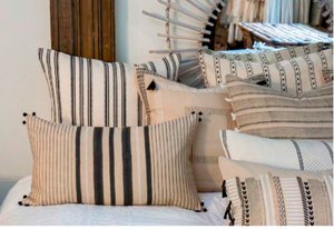 Black & White styled cushions