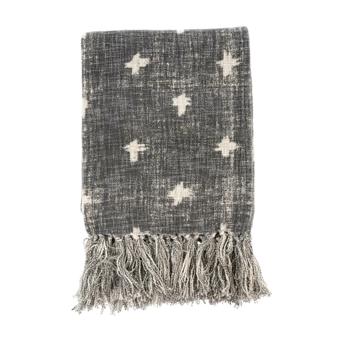 Decor by Christine Online Shop Cross Tassel Throw