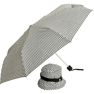 Houndstooth umbrella from Zhush