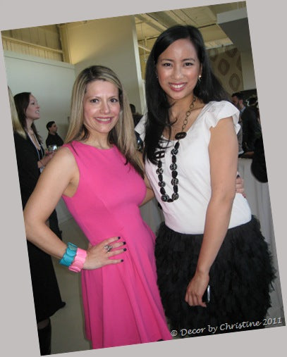 Lisa Canning & I at Dabble Launch Party
