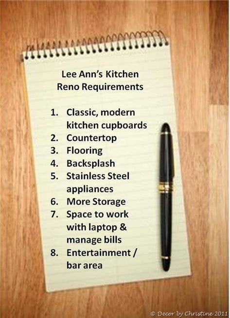Lee Ann's Kitchen reno list of requirements-1
