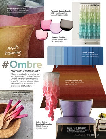 What's Trending - Ombre
