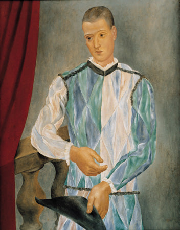 Harlequin, 1917 - Oil on canvas - MPB 10.941