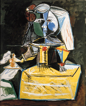 Las Meninas (infanta Margarita María), 1957 - Oil on canvas - MPB 70.459