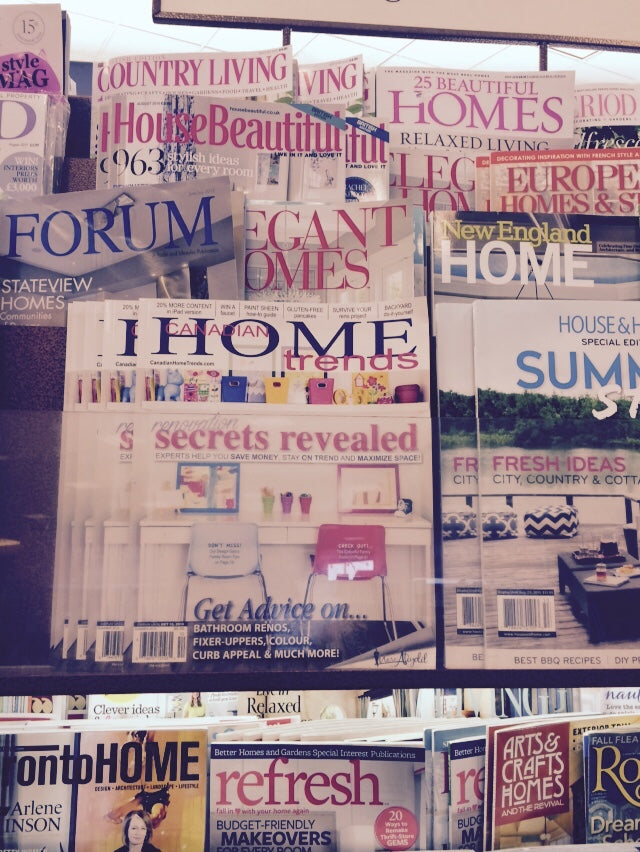 CHT cover issue at Indigo - Decor by Christine